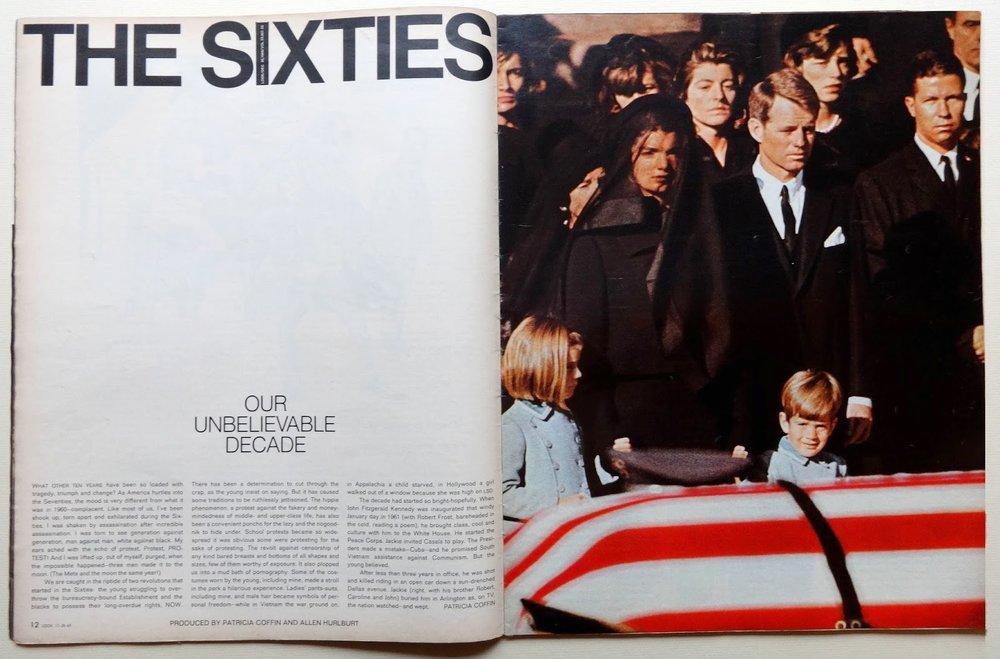 Look Magazine, Allen Hurlburt, 1969
