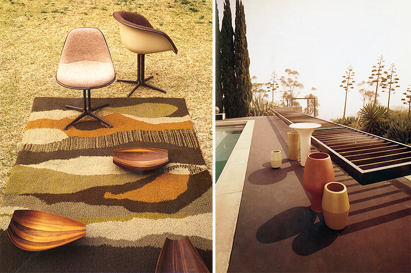 LEFT: John Marko, 1962. RIGHT: Architectural Pottery, 1965.