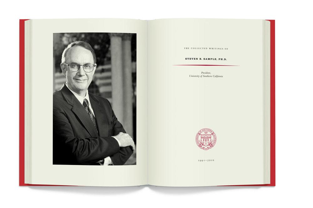Copy of USC: Dr. Steven Sample