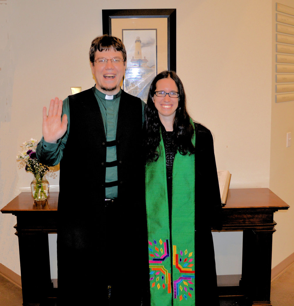 REV. LUCUS KEPPEL & ELANA LEVY, CO-PASTORS