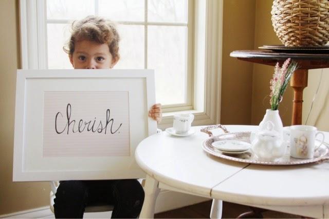 """""""Cherish.""""(8x10)"""