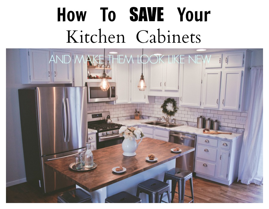 how to make kitchen cabinets look new how to save your kitchen cabinets and make them look like 17121