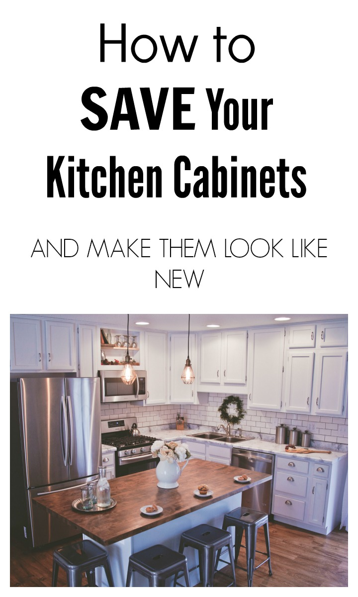 How to save your kitchen cabinets and make them look like for How to make old kitchen cabinets look new