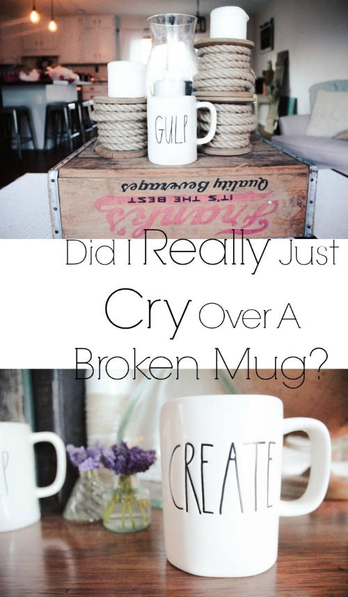 Did I Really Just Cry Over A Broken Mug? It Was A Rae Dunn Ok.