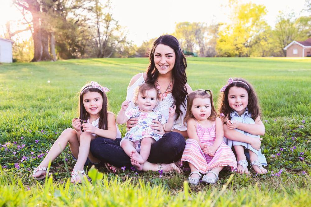 Kelsey Van Kirk Family