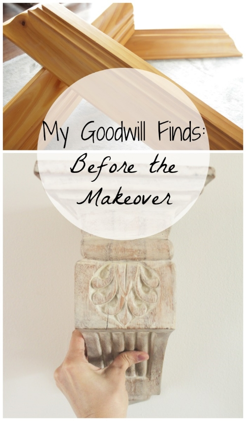 my goodwill finds: before the makeover