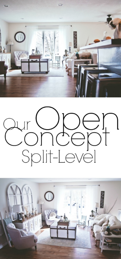 Our Open Concept Split-Level