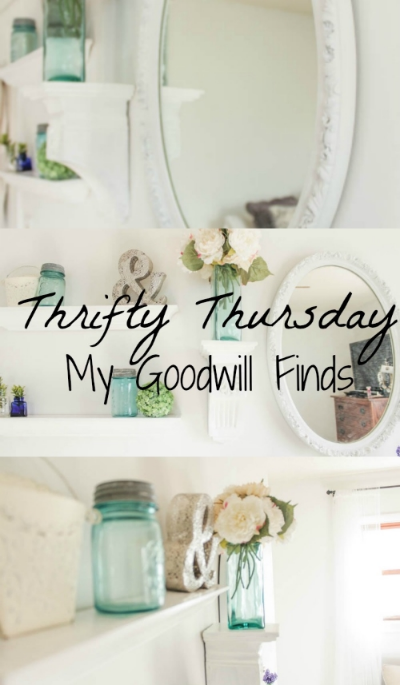 Thrifty Thursday: My Goodwill Finds
