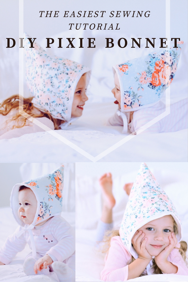 DIY Pixie Bonnet: Easiest Sewing Tutorial