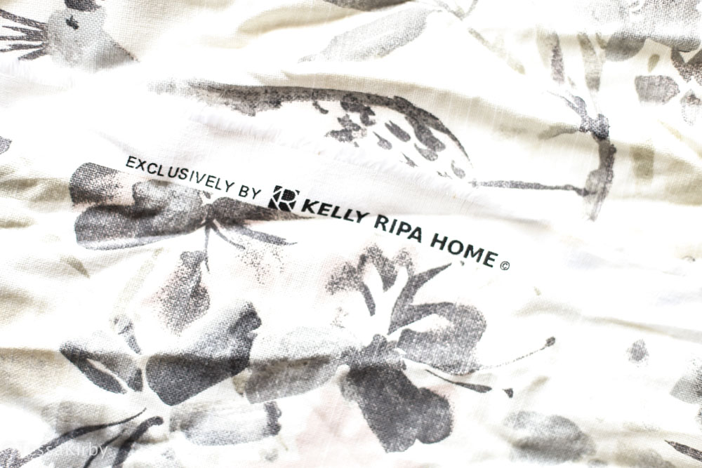 DIY No Sew Pillow Case With Kelly Ripa Home Line