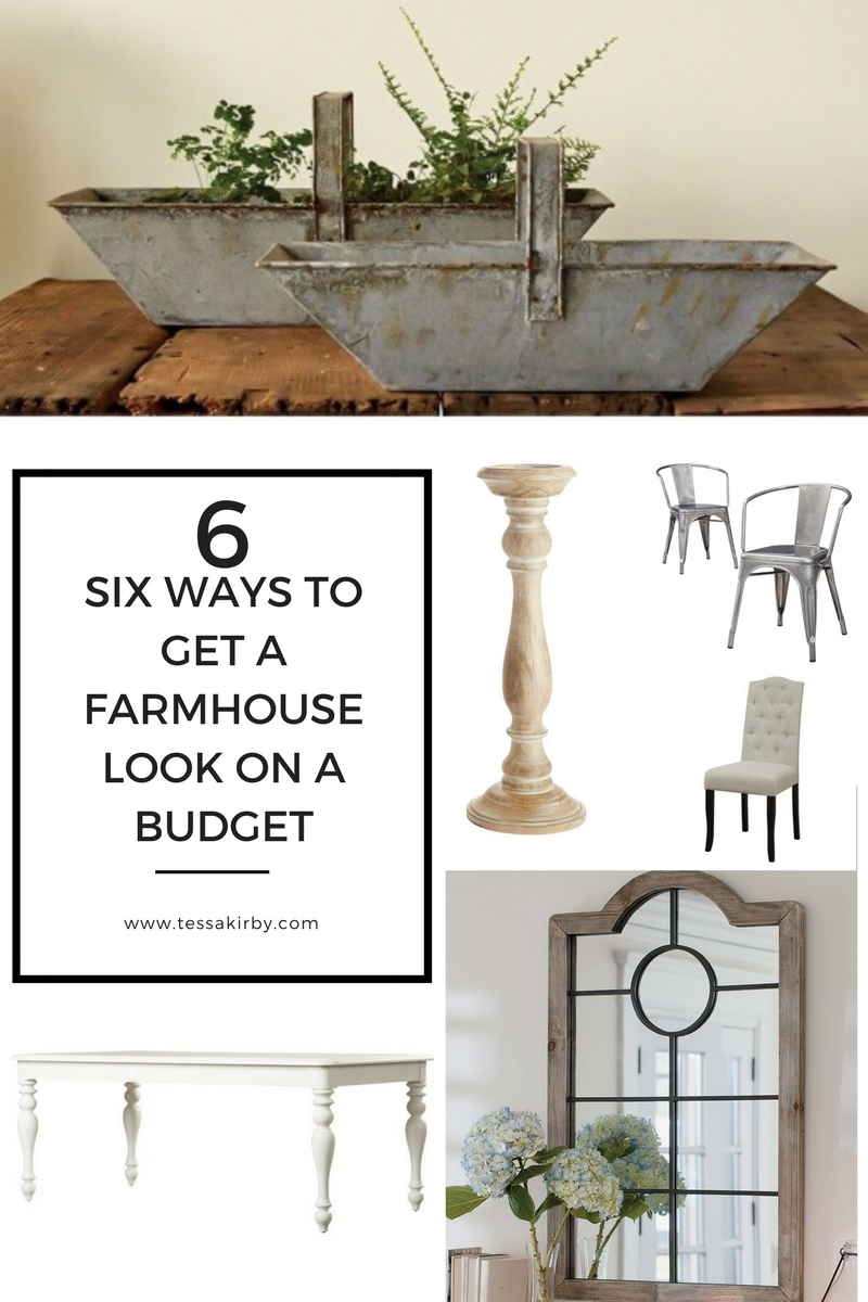 Get The Farmhouse Look On A Budget