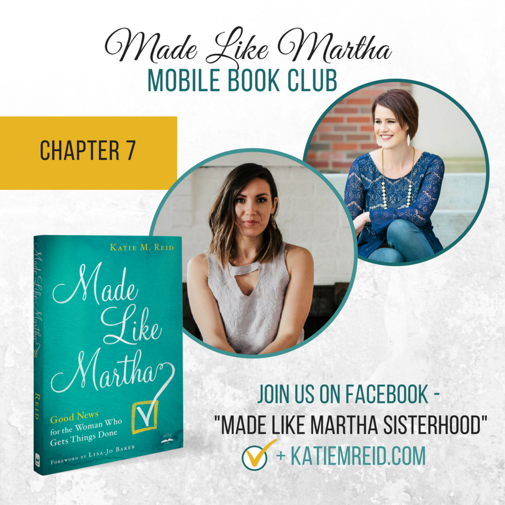 Striving To Thrive: Made Like Martha