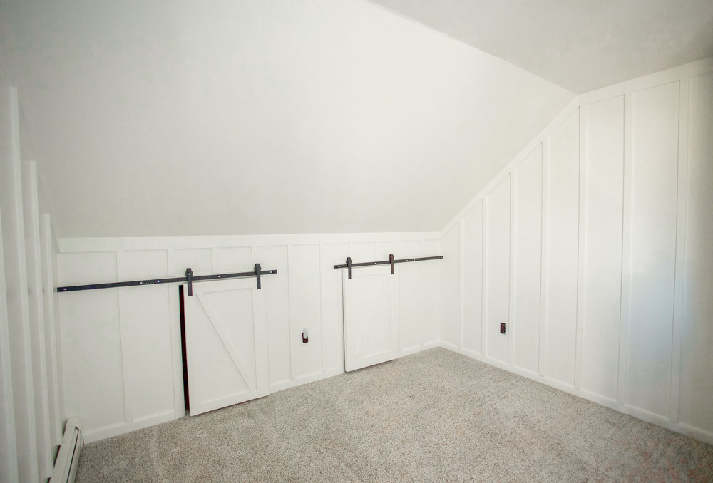 Baby Room Update: We Finished The Board & Batten!