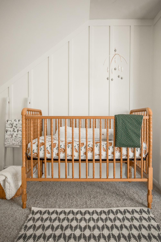 Gender Neutral Baby Nursery