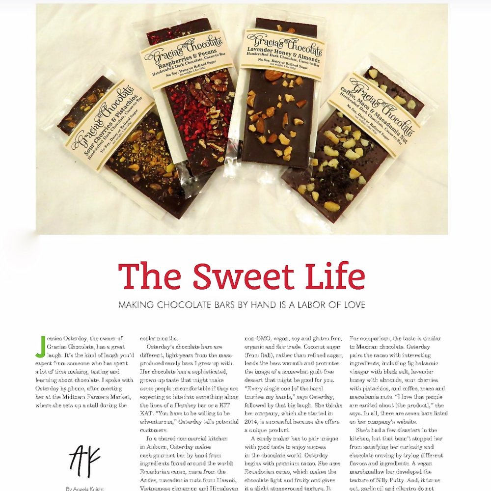 Inside Publications:  The Sweet Life