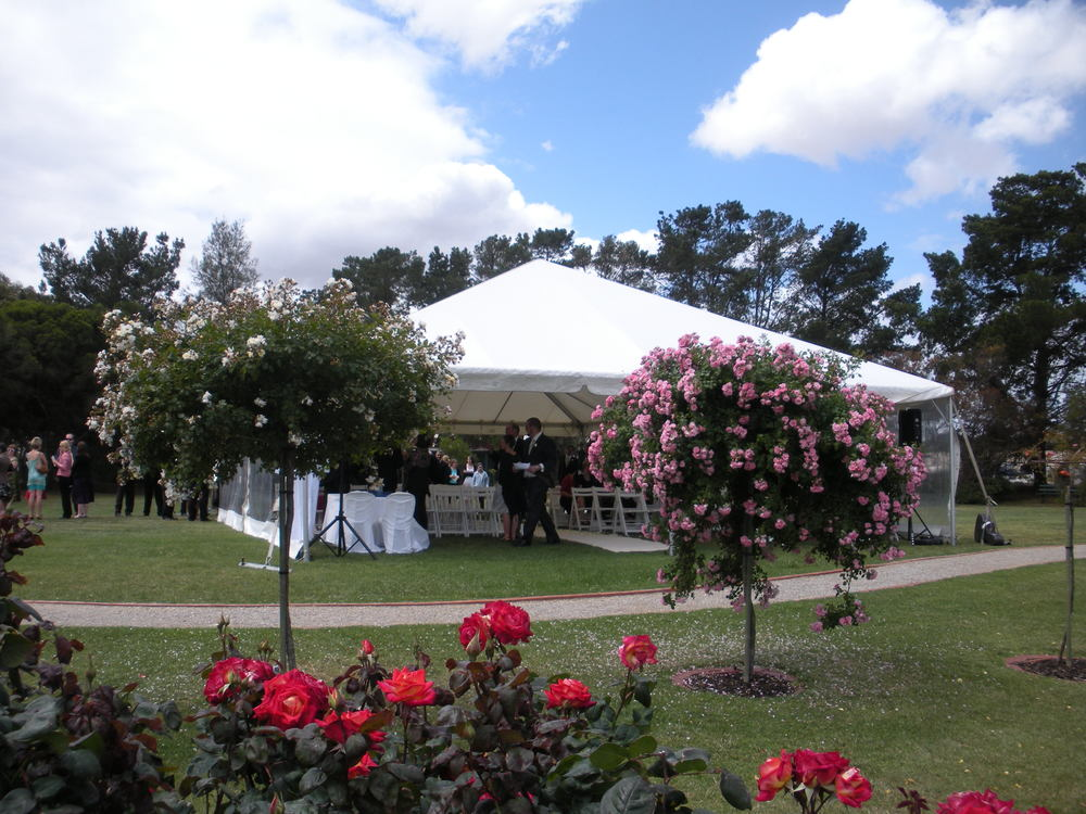 State Rose garden....beautiful for a wedding but not limited to that.....