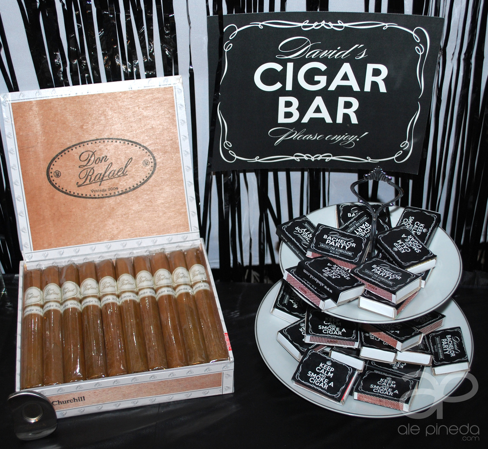 Bachelor party invitation. Keep calm and chive on theme. KKCO, black and white, whiskey theme, man cave, king, vintage, modern. Party favors. Cigar bar. Custom matches favors
