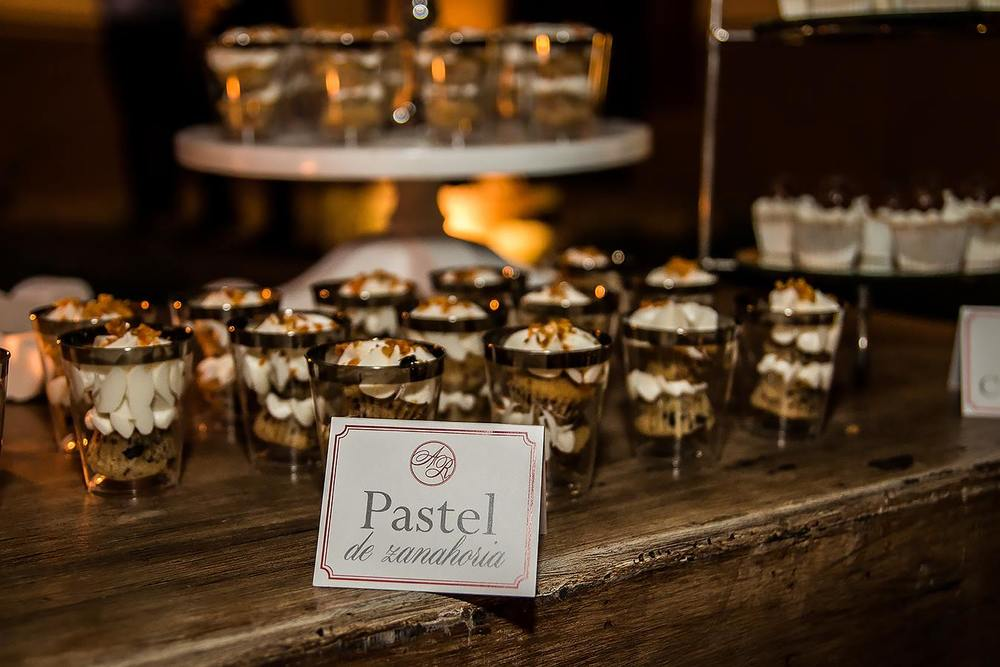 dessert table signs: mexican colonial wedding, elegant and classy