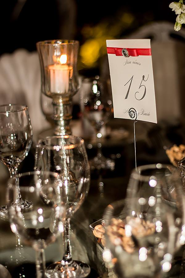table numbers: mexican colonial wedding, elegant and classy