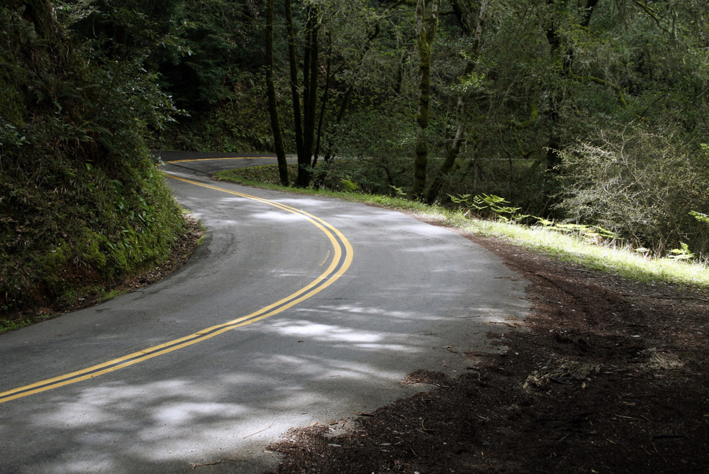 Bolinas - Fairfax Road Closed to Cars!