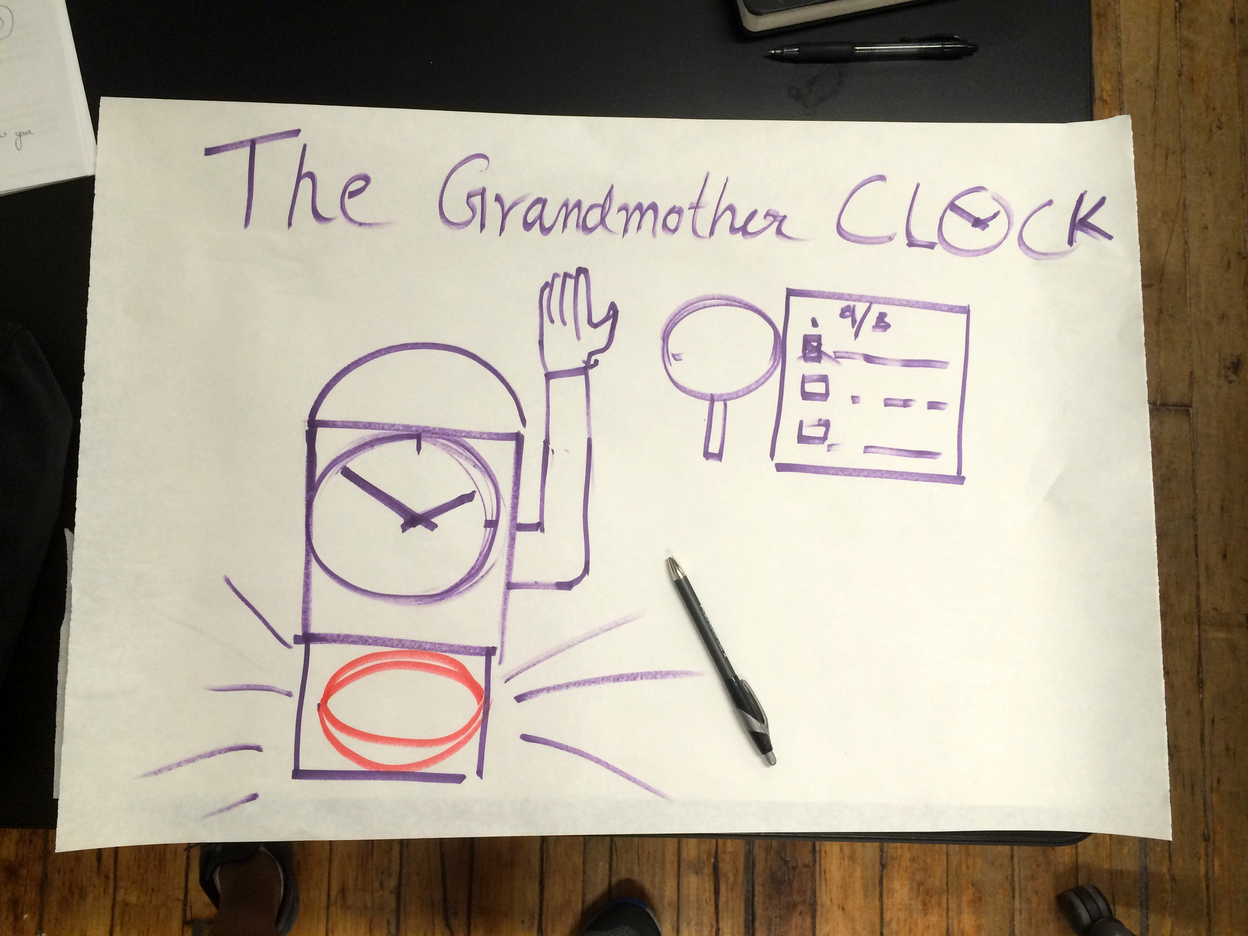 The Grandmother Clock