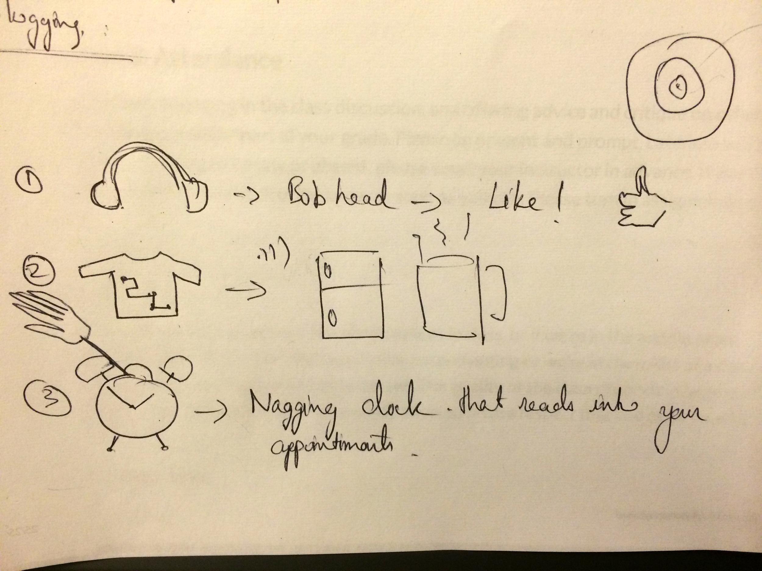 Idea doodles