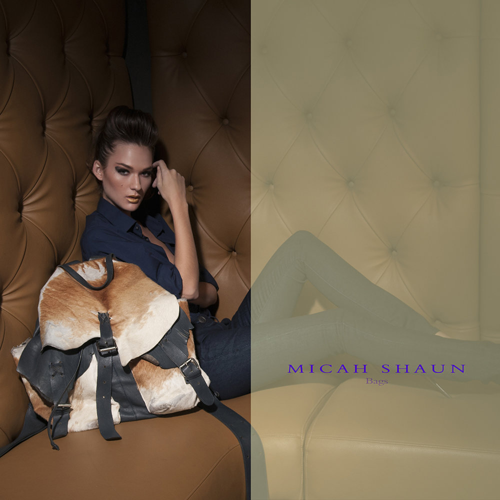Lookbook for Luxury Designer Micah Shaun