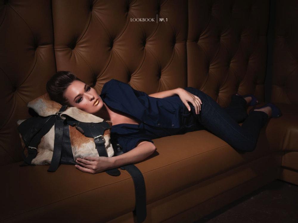 Lookbook Shot for Designer Micah Shaun
