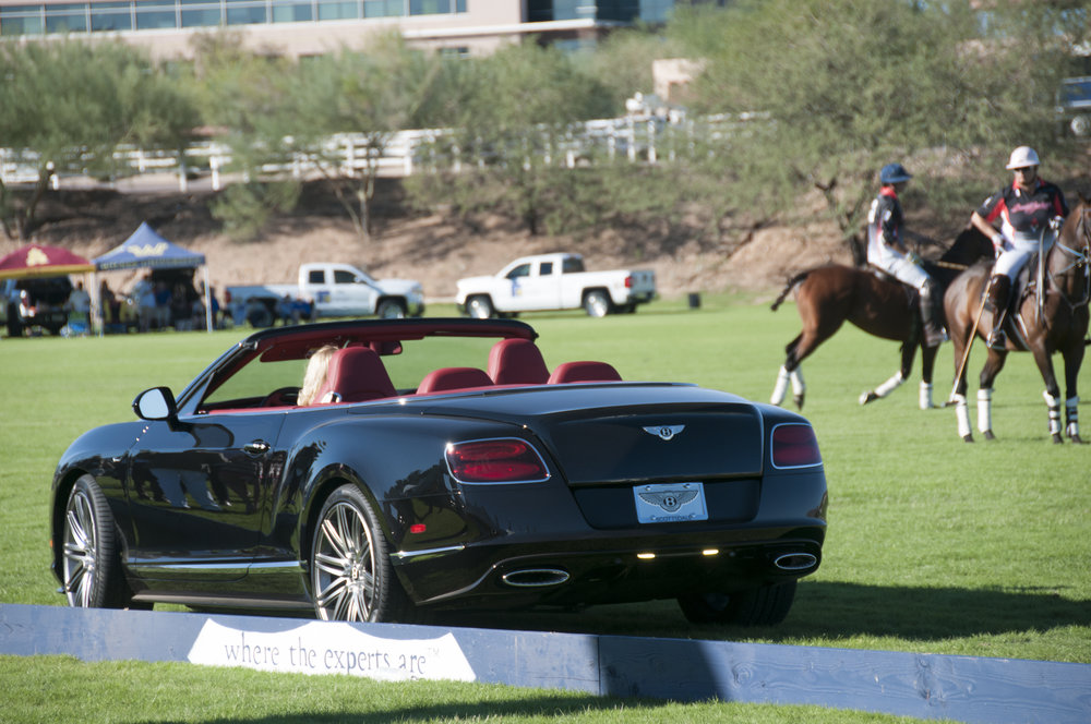 Scottsdale Modern Luxury Magazine - Fifth Annual Bentley Scottsdale Polo Championships: Horses & Horsepower