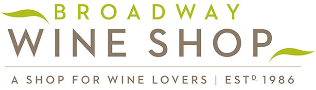 Broadway International Wine Shop Logo