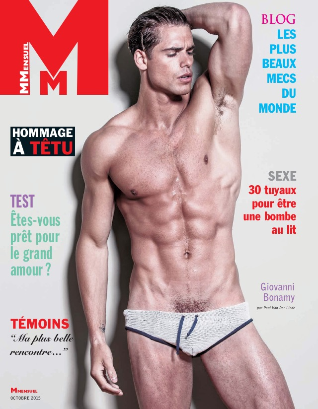 MMENSUEL French Magazine, October 2015 Issue