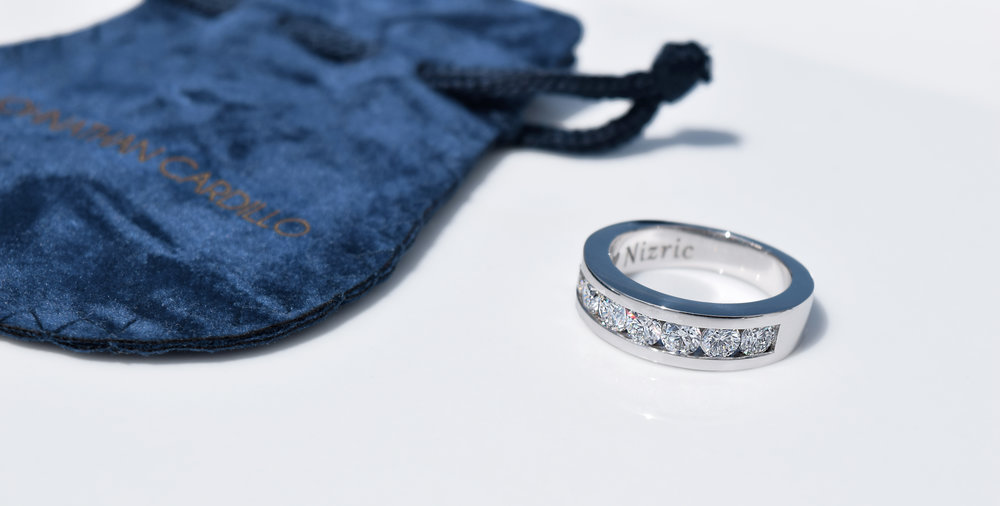 Custom engagement ring by Johnathan Cardillo