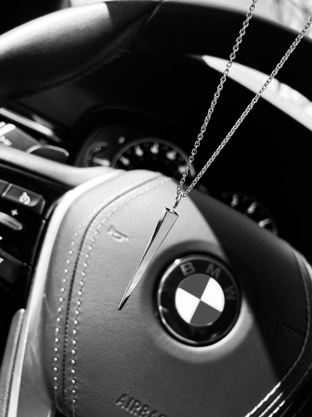 edited spike on steering wheel.JPG