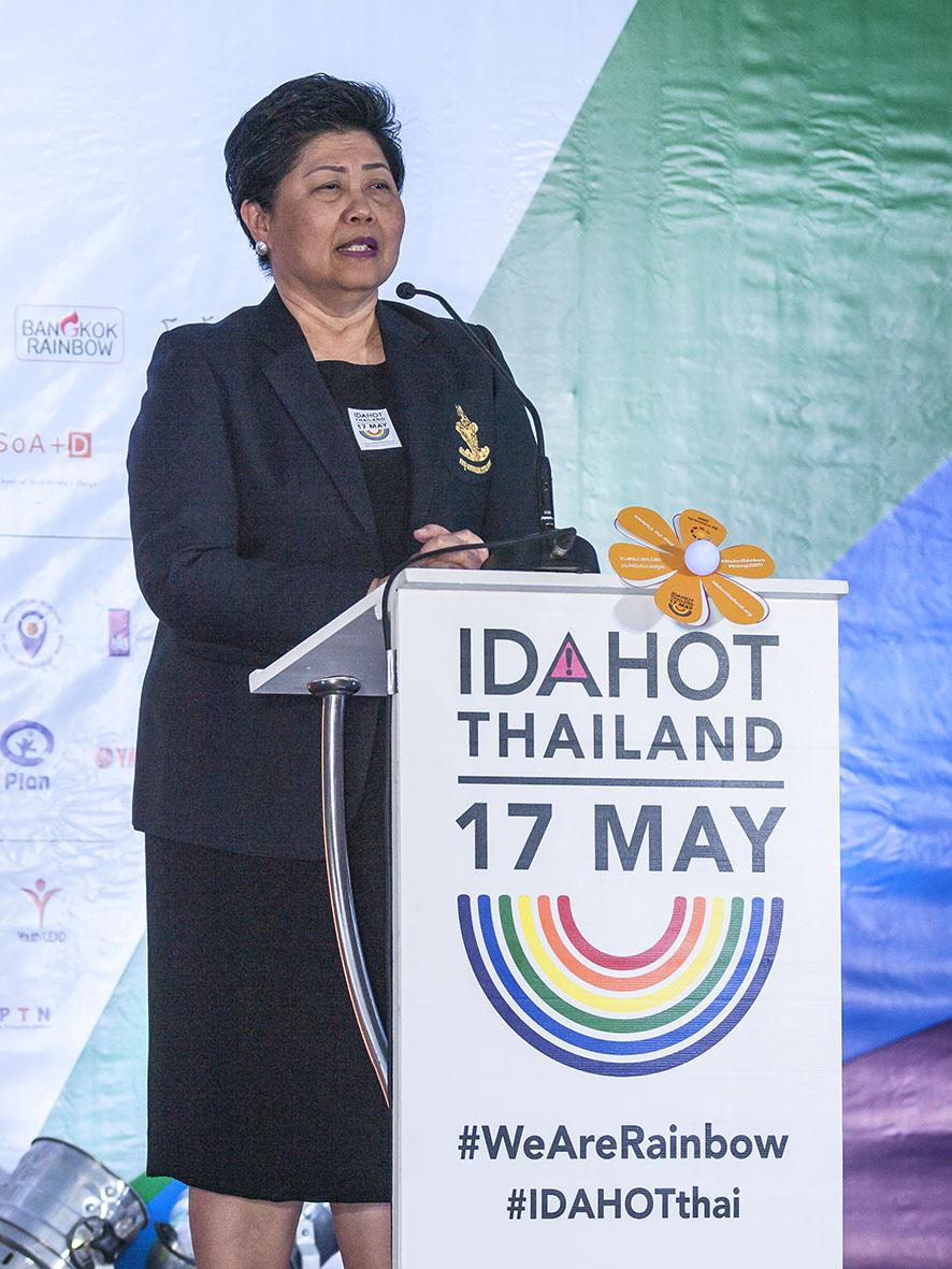Bangkok Deputy Governor Pusadee Tamthai