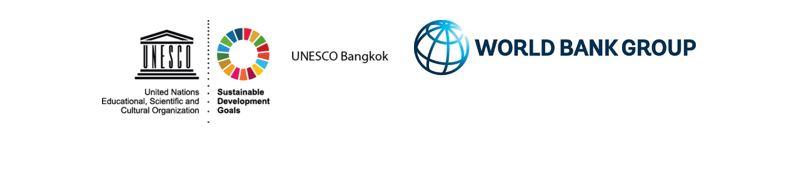 WB and UNESCO logos