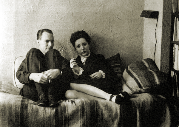 Anais Nin and her first husband Hugo Guiler.jpg