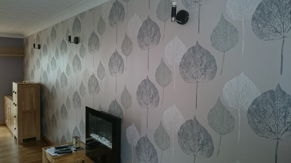 feature wallpaper in Rodbourne, Swindon