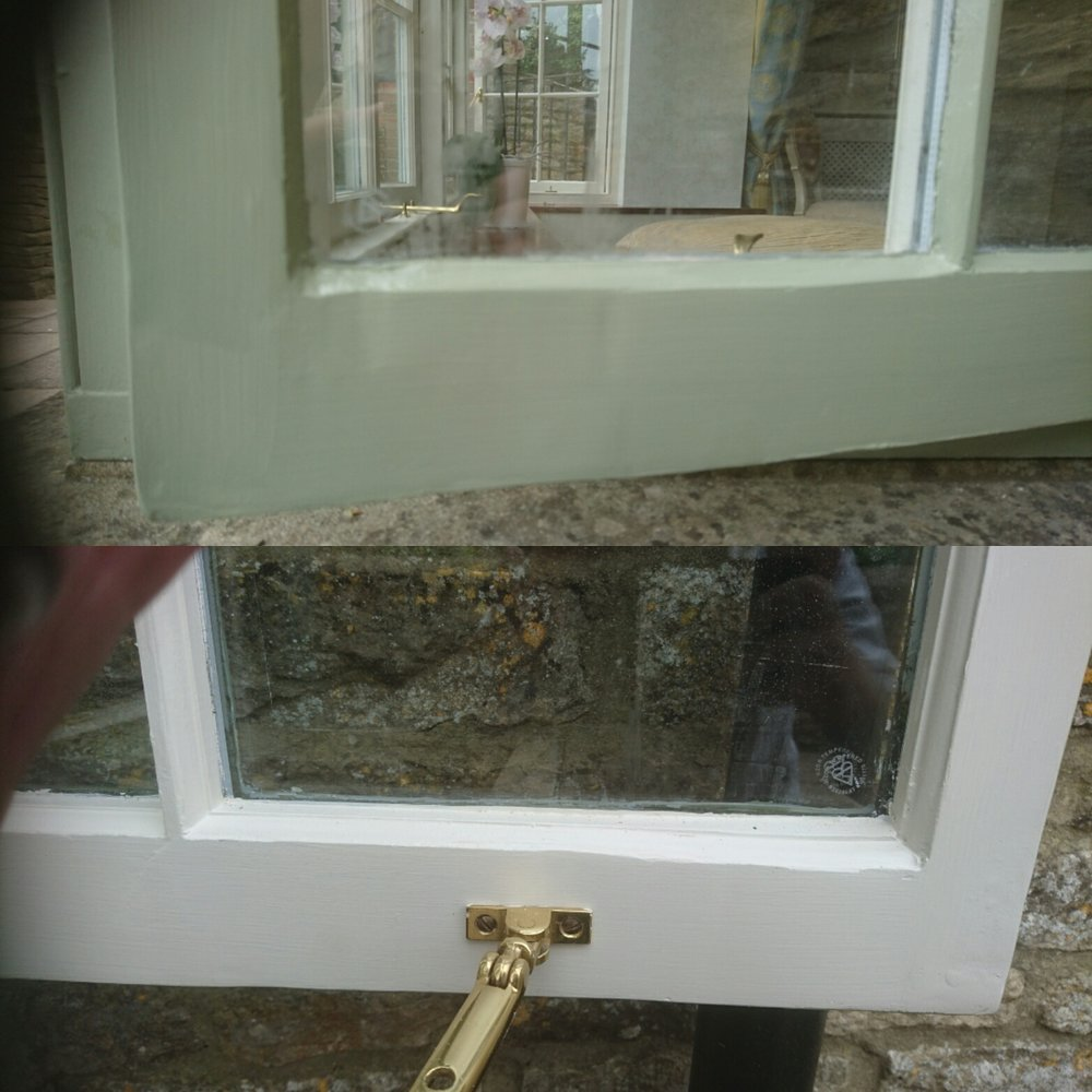 Exterior decoration using repair care in Oaksey, Gloucestershire