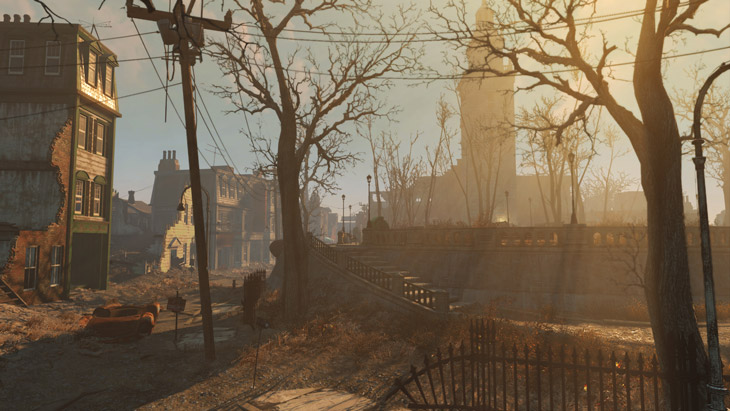 THE BEAUTIFUL WORLD OF FALLOUT IS AS INTRICATE AS IT IS ENORMOUS