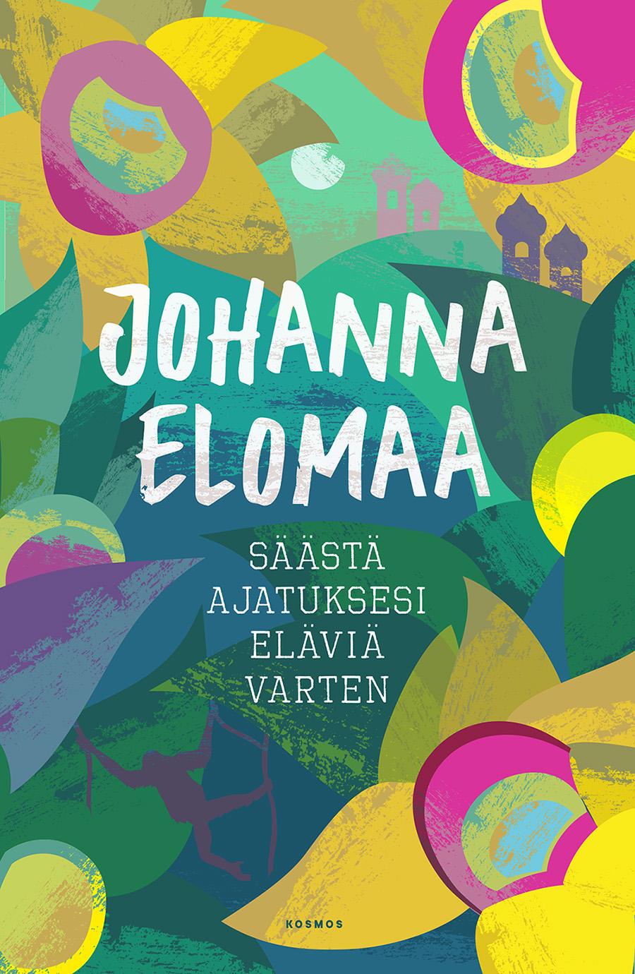 Johanna Elomaa :  Säästä ajatuksesi eläviä varten  (ilm. 05.09.2016)  Eräänä päivänä toimittaja  Johanna Elomaan  elämä pysähtyi puhelinsoittoon. Hänen veljensä oli kuollut Vietnamissa. Kuolema ei tullut yllätyksenä. Veli oli jo vuosikausia ollut pahenevassa huumekierteessä. Mutta kuolema vei Elomaan kysymään mistä elämässä itse asiassa on kysymys. Ja pian myös hänen parisuhteensa taiteilijan kanssa oli päättynyt ja hyvä työ suuressa mediatalossa tuntui yksinomaan absurdilta.Elomaa päätti jättää kaiken ja lähteä Aasiaan, jossa hän muun muassa työskenteli orankien kuntoutuskeskuksessa Borneolla. Hän kirjoitti kokemuksistaan kirjan, joka on silmiä avaava, hillittömän hauska ja riipaisevan surullinen matka siihen, mikä elämässä itse asiassa on tärkeää.   Johanna Elomaa on helsinkiläinen toimittaja, joka on työskennellyt laajalti eri medioissa, viimeksi MTV3:n viihdetoimituksessa esimiehenä.