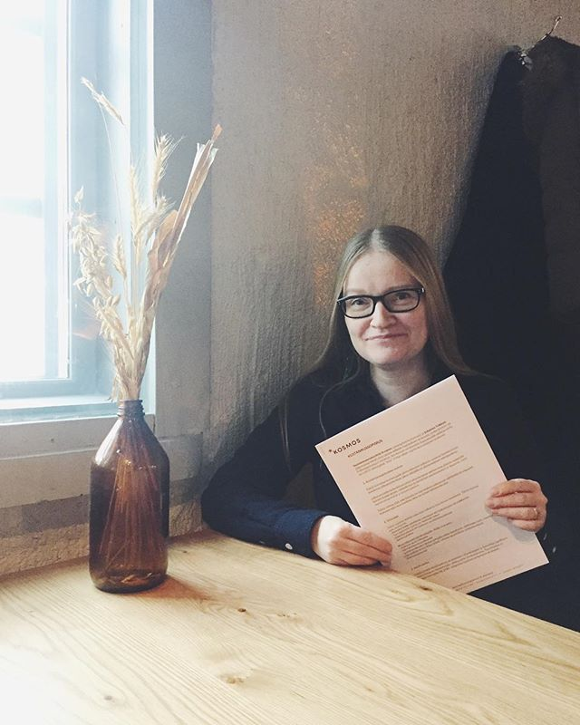 Nimet paperissa! Johanna Vehkoon Valheenpaljastajan käsikirja julkaistaan syksyllä 2019. 📝 #kosmoskirjat @vehkoo