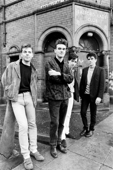 The Smiths, Salford Lads Club, Manchester (1985), by Stephen Wright.