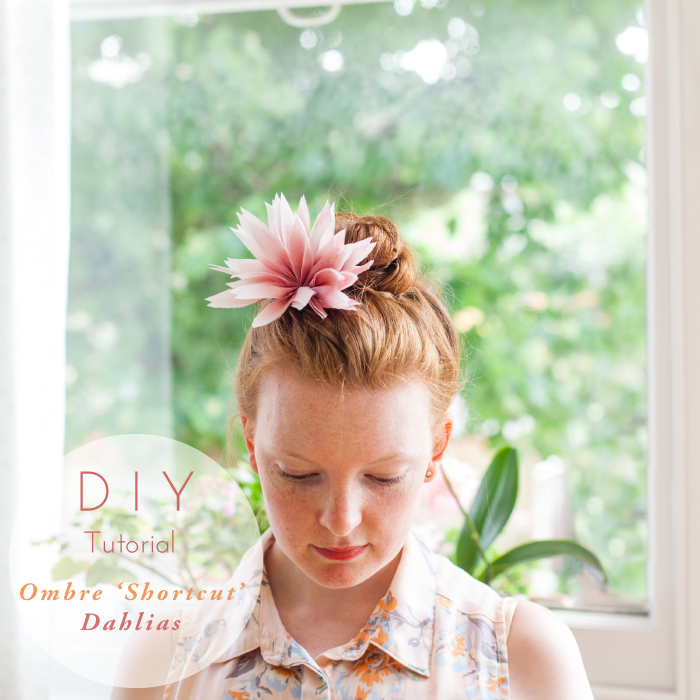 Silk Hair Flower Tutorial Blackbirds Pearl