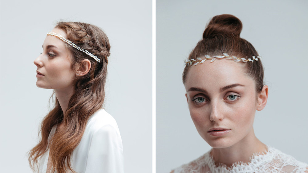 minimal-modern-wedding-hair-vine