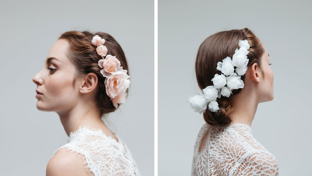 Lookbook Bridal Headpieces 2016 Blackbirds Pearl