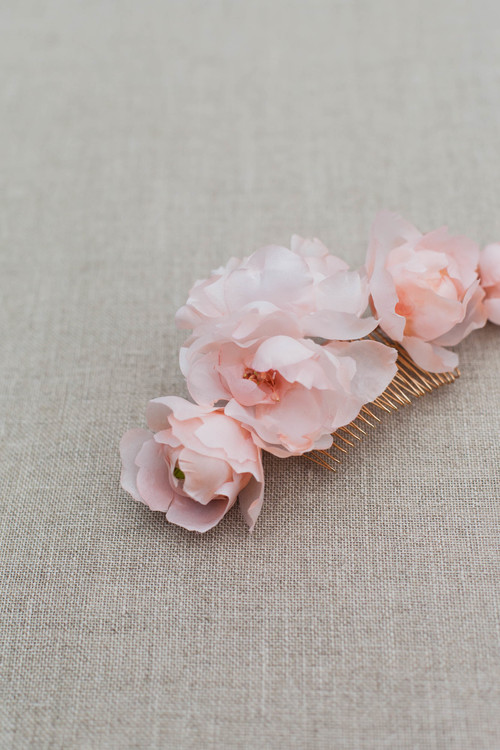 Celesete silk flower wedding hair comb blackbirds pearl bridal flower hair comb brautaccessoire haarblten rosa bltenkamm mightylinksfo