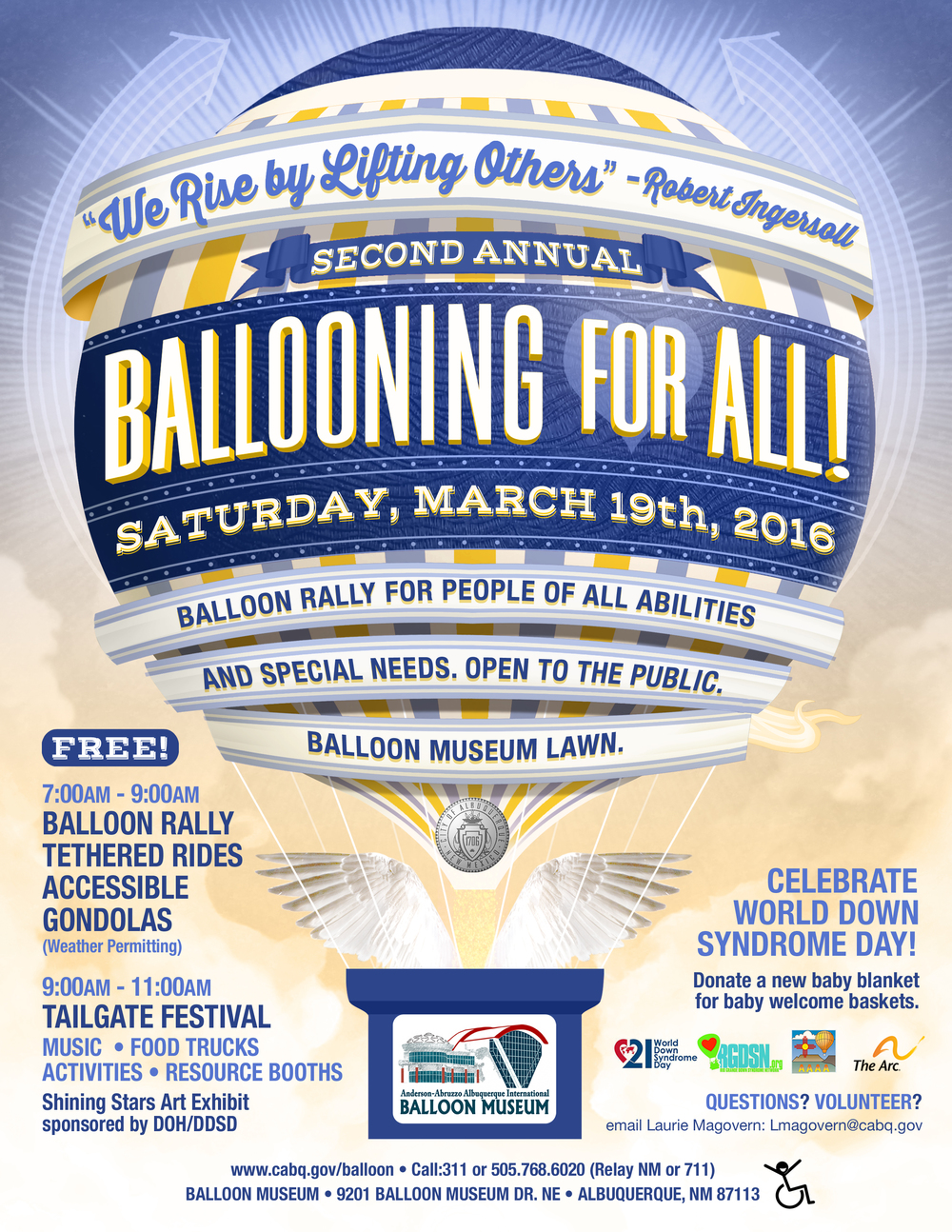 Ballooning For All! flier
