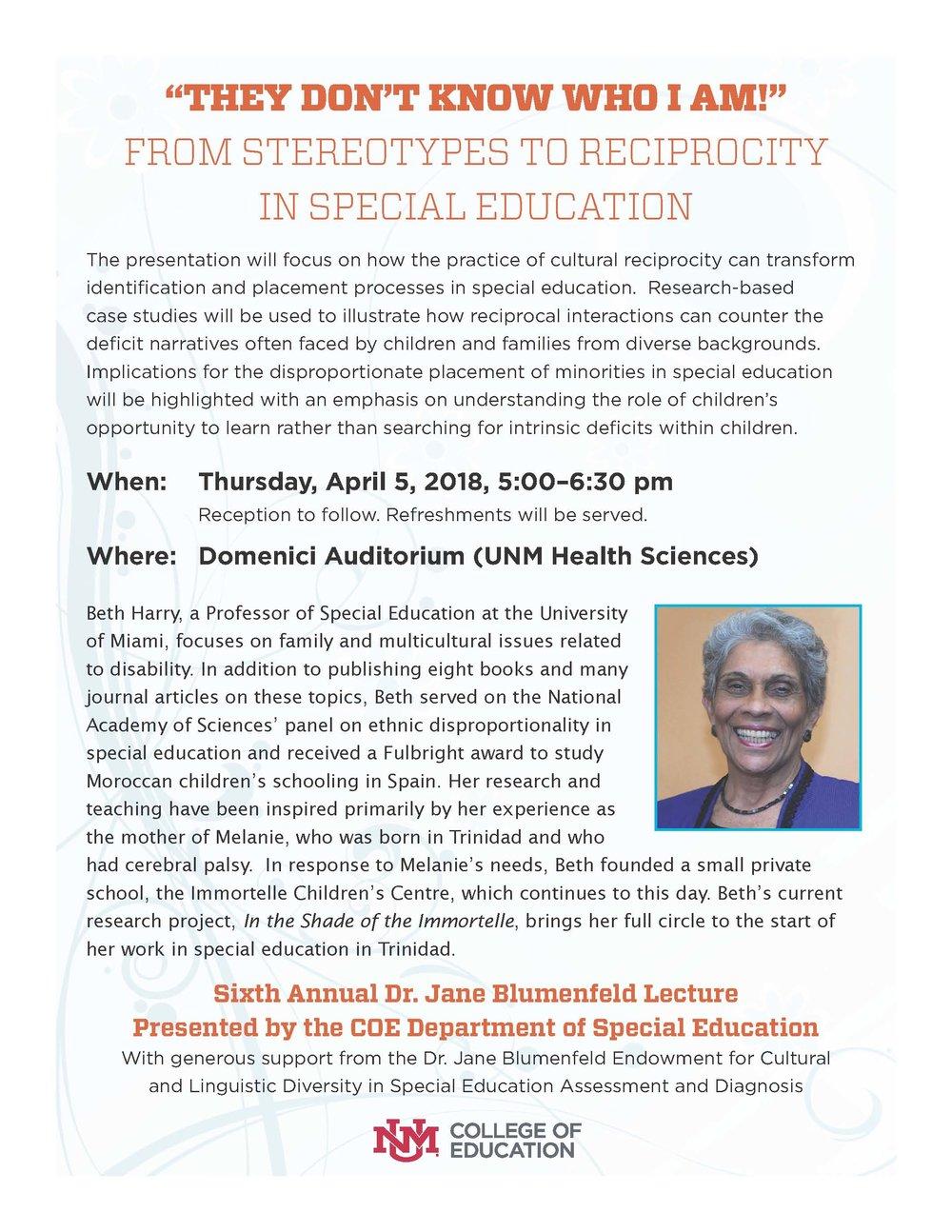 Dr. Jane Blumenfeld lecture flyer.2018.jpg