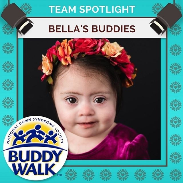 Who will be joining Bella's Buddies at this year's Buddy Walk? This will be Bella and her team's second year attending the RGDSN Buddy Walk. . . . . #BuddyWalk #team #t21family #NDSS #DownSyndrome #DownSyndromeAwareness #t21 #BeInspired #WalkWithUs #DS #advocacy