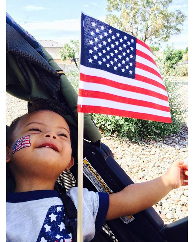 Let freedom ring! Wishing our members and friends a Happy 4th of July! . . . . #RGDSN #downsyndrome #DS #t21 #t21family #buddies #walkfordownsyndrome #nothingdownaboutit #upsyndrome #theluckyfew #independenceday
